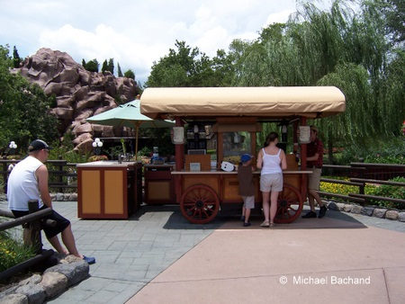 Refreshment kiosk