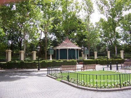 Bandstand where the British Invasion play