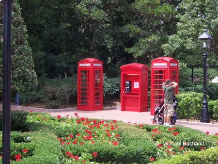 United Kingdom telephone boxes