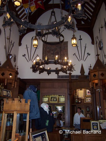 Inside the shop