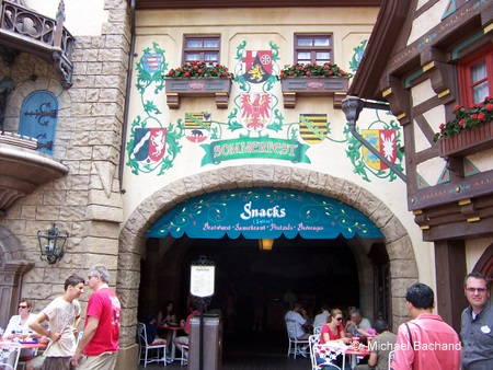Sommerfest entrance
