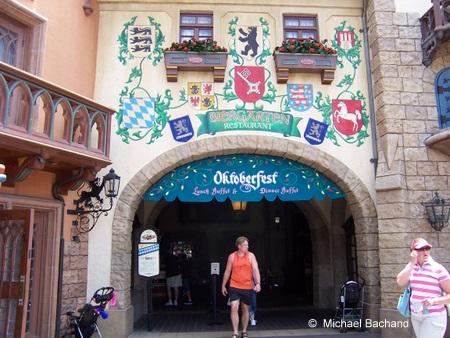 Oktoberfest entrance
