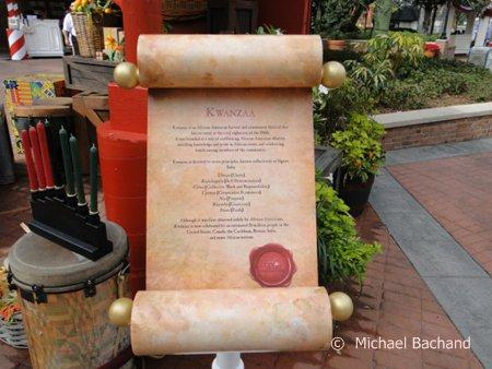 Kwanzaa scroll