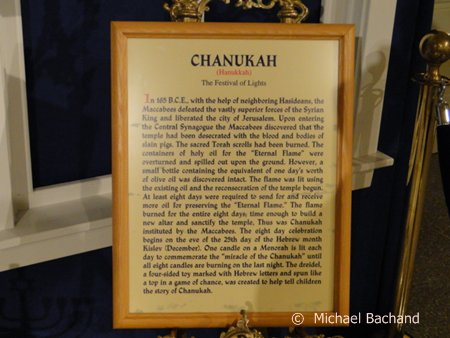 Chanukah sign