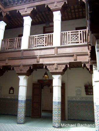 Inside the Fez house