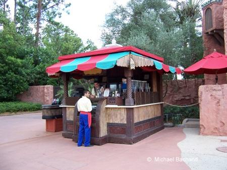 Moroccan drink kiosk