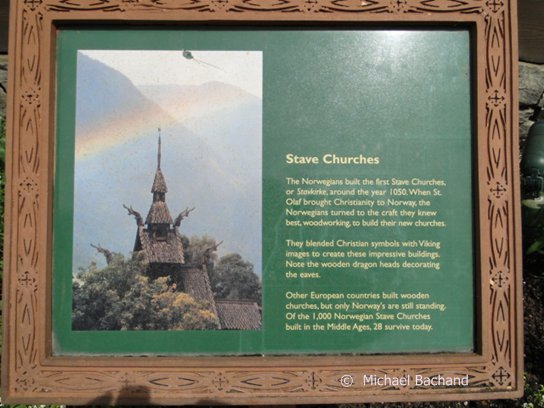 Stave Church sign