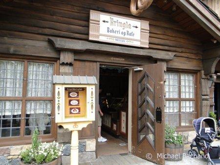 Kringla Bakeri og Kafe entrance