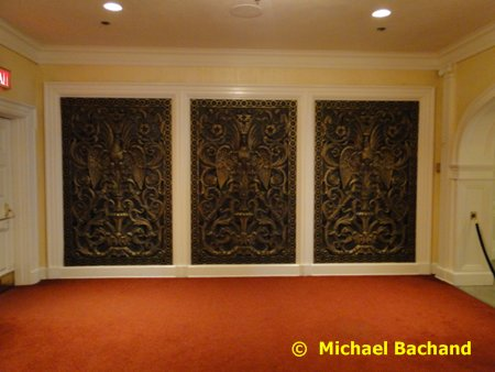 Brass wall panels