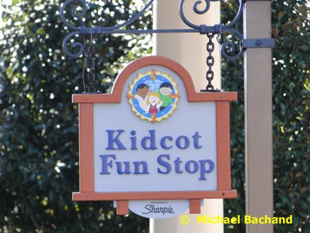 Kidcot Fun Stop sign