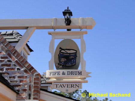 Fife & Drum Tavern sign