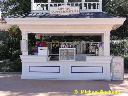 Espresso kiosk