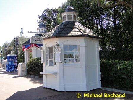 Funnel Cake kiosk