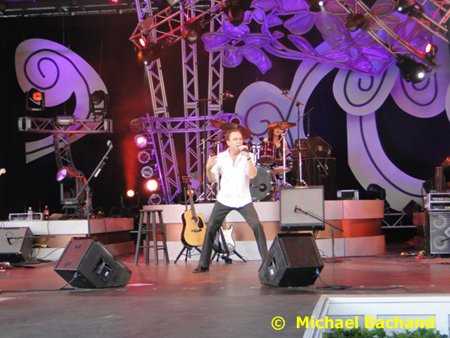 David Cassidy performs