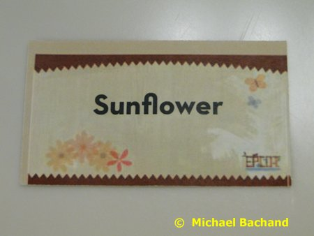 Sunflower ticket