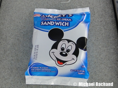 Mickey's Ice Cream Sandwich
