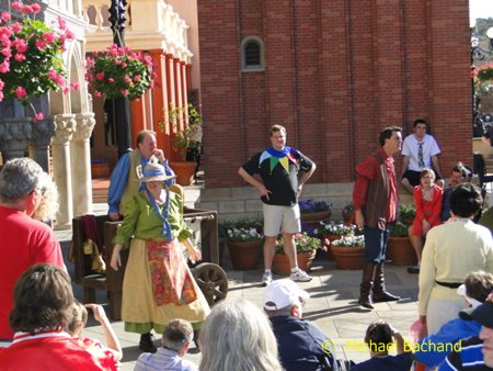 World Showcase Players perform