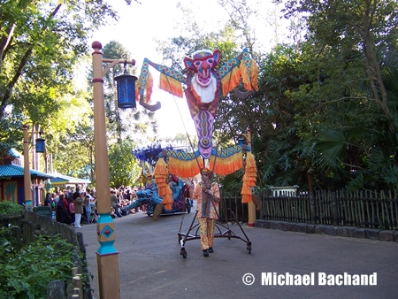 Mickey's Jingle Jungle Parade