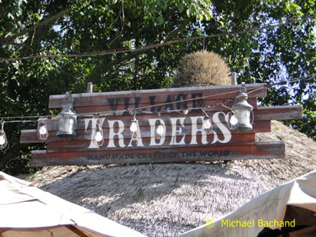 Village Traders sign