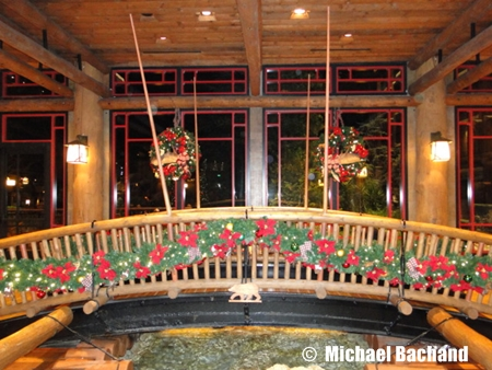 Wilderness Lodge decorations