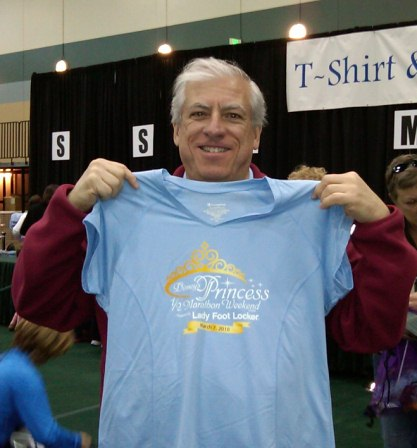 Mike Checks In for Princess Half Marathon