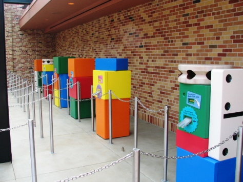 Fastpass Machine for Toy Story Mania