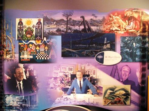 Walt Disney World et Universal Orlando en amoureux du 5 au 13 juin 2011 (update page 5) One_mans_dream_mural
