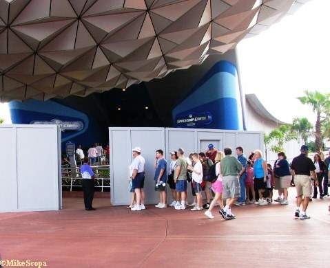 Spaceship Earth Soft Opening