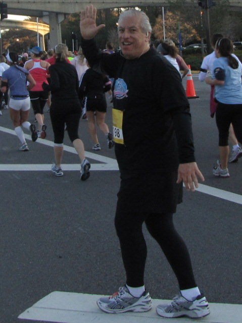 Mike Scopa Princess Half Marathon