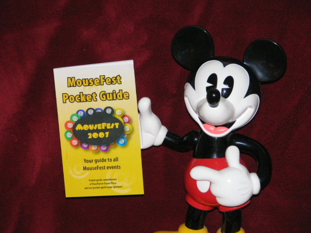 Mousefest Pocket Guide and Mickey