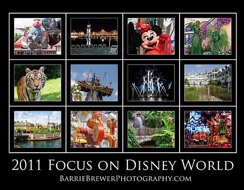 2011 Focus on Disney World Calendar