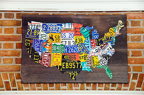 American Adventure Map