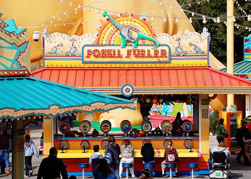 Fossil Fueler Game in Disney's Animal Kingdom