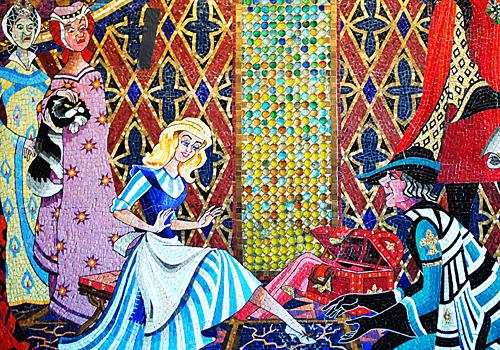 Cinderella Mosaic at Disney's Magic Kingdom