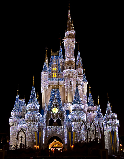 Cinderella's Dream Lights Castle