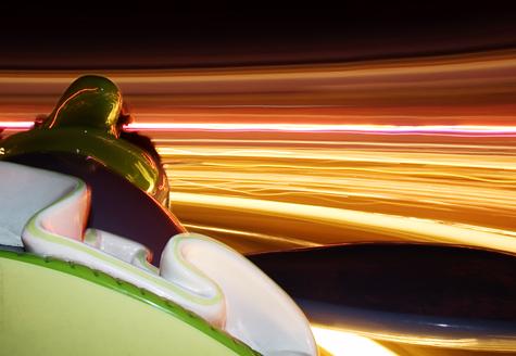 Dumbo ride in Disney's Magic Kingdom