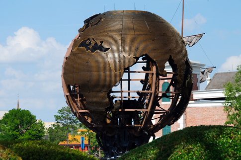 Earth Globe in Epcot