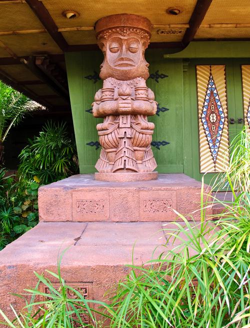 Enchanted Tiki Room column