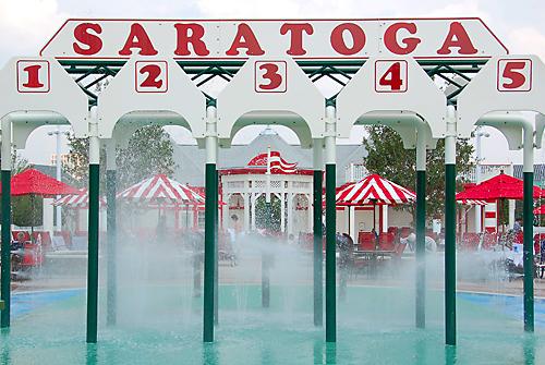 Grandstand Pool at Disney's Saratoga Springs Resort and Spa