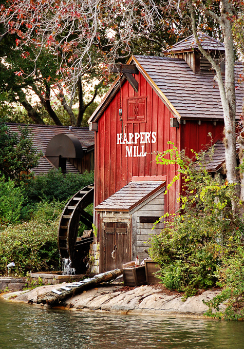Harper's Mill in the Magic Kingdom