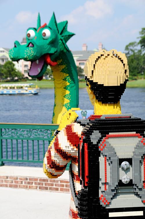 LEGO Dad at Downtown Disney
