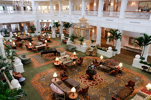 Lobby of Disney's Grand Floridian
