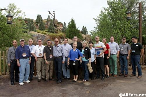 Seven Dwarfs Mine Train Imagineers and Cast Members