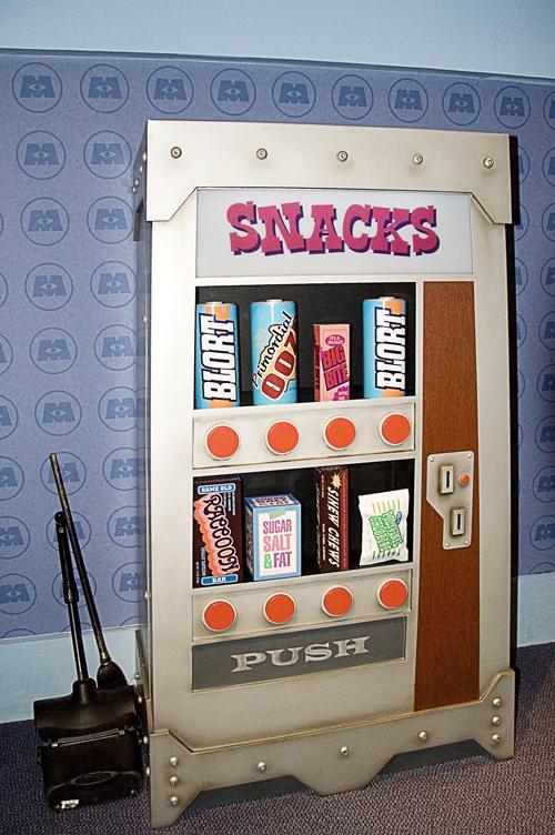 Monsters Inc Vending Machine at Disney's Magic Kingdom