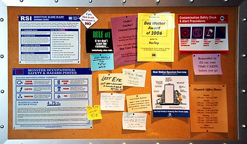 Monster's, Inc. Laugh Floor Bulletin Board