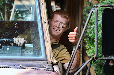 Cast Member from Kilimanjaro Safari