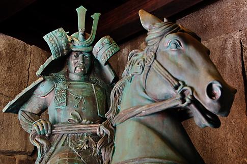 Samurai Warrior in Epcot
