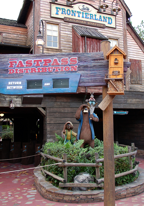 Splash Mountain Fastpass at Disney's Magic Kingdom