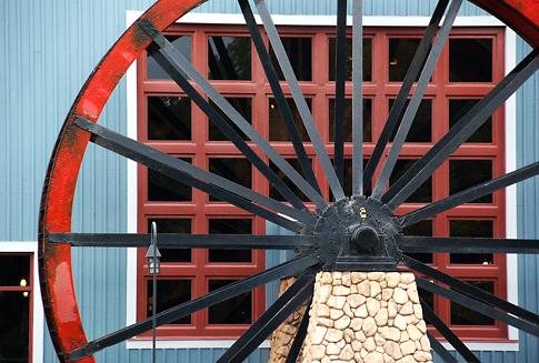 Waterwheel at Disney's Port Orleans Riverside Resort