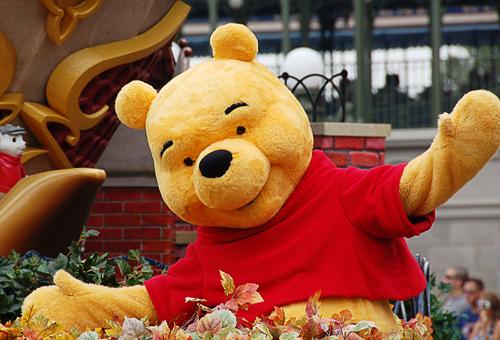 Winnie the Pooh at Disney's Magic Kingdom
